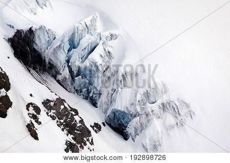 View On Elbrus Mount