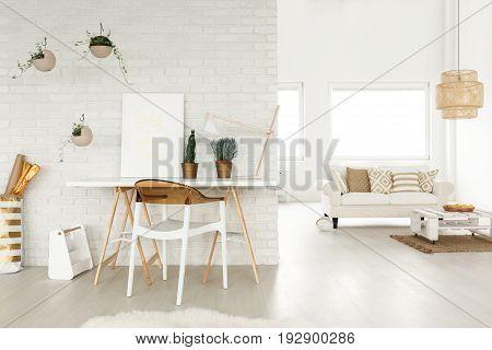 Creative Atelier In A Loft