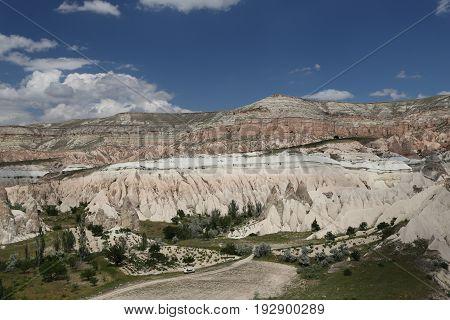 View Of Cappadocia In Turkey