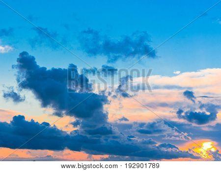 Skies View Idyllic Wallpaper