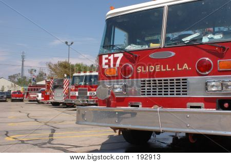 Fire Engine Lineup