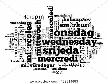 Word Wednesday In Different Languages