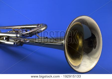 A Unique Look at the Bell of a Trumpet.