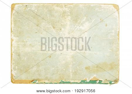 piece of sheet on a white background