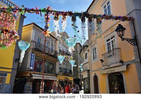 Street In Setubal, Portugal