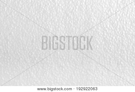 White texture of polystyrene styrofoam foam for your design.