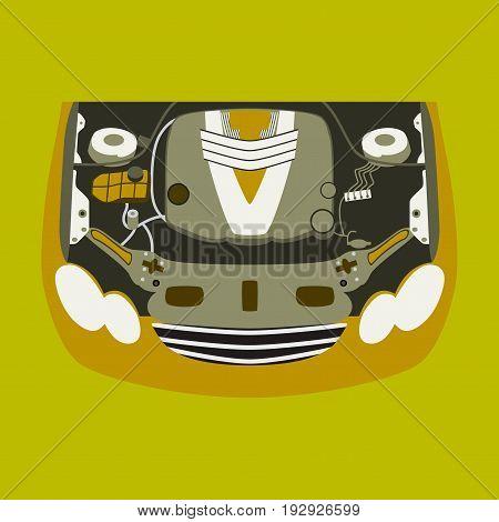 Car motor business technology design transport service