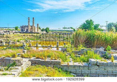 Ruins Of Ancient Temples