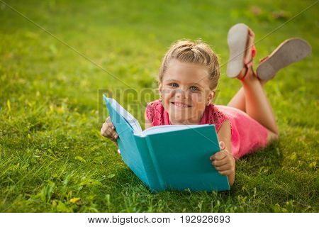 Child reading young cute childhood education caucasian
