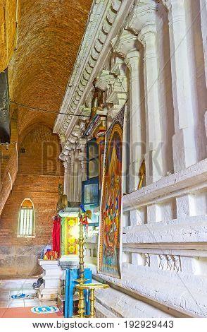 The Temples In Lankathilaka Vihara