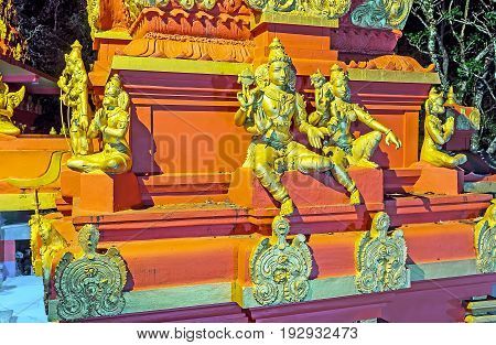 The Sculptures Of Seetha And Rama