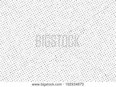 Modern hipster grunge texture dotted abstract background layout template. Geometric circle halftone comic minimalistic polka dot backdrop. Vector illustration