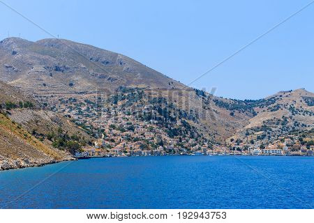 Day On The Greek Island Of Symi.
