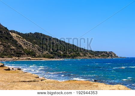 Landscape With A Beach At Rhodes.