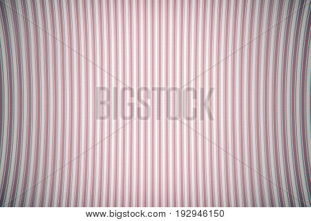 Old Texture Of Curved Vertical Curved Lines. Pink Color