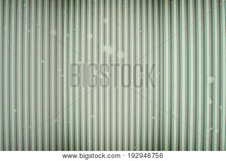 Old Texture With Dust And Vertical Lines. Green Color