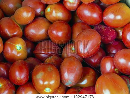 Delicious Red Tomatoes Background
