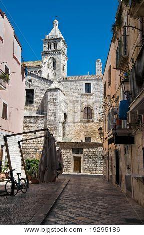 Alleyway. Barletta. Apulia.