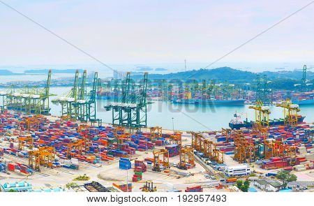 Singapore Commercial Port