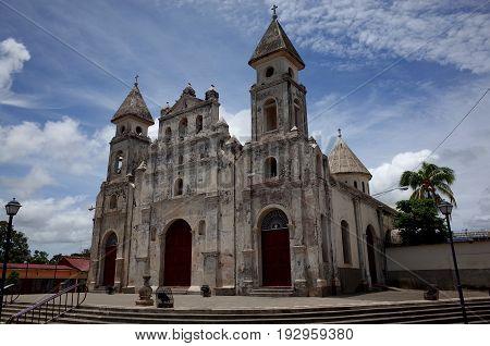 The Iglesia Guadaloupe in Granada in Nicaragua