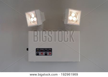 Emergency Lighting With Turn On Light Bulbs