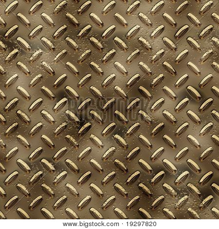 a large sheet of diamond or tread plate metal poster