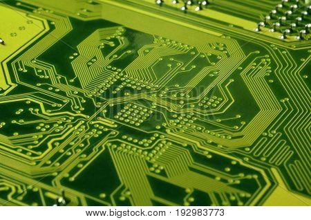 Macro Of Circuit Board