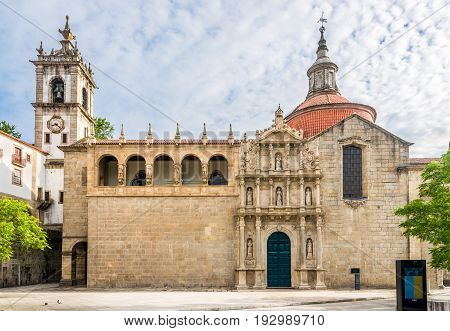 Church Sao Domingos and monastery Sao Goncalo in Amarante - Portugal