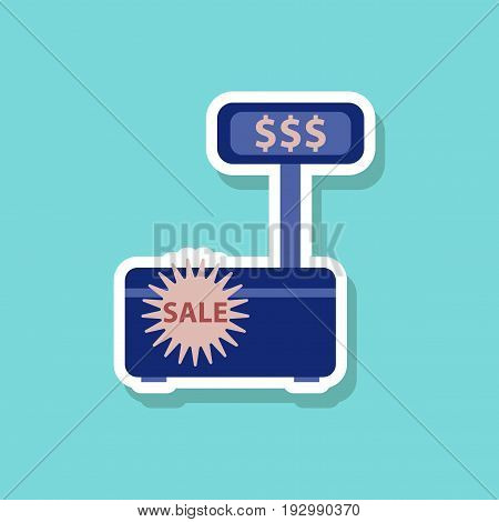 fashion patch , sale sticker cash machine sale discounts