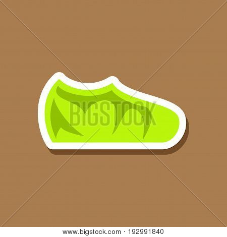 paper sticker fashion footwear sport shoes shopping