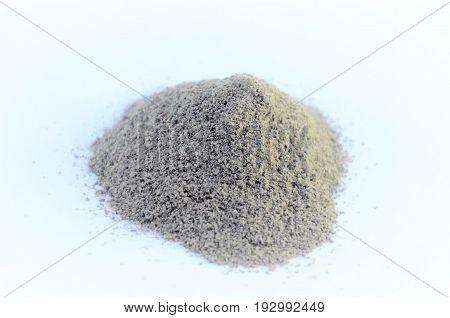 schwarzer Pfeffer Pulver, pepe nero in polvere,  poudre de poivre noir, black pepper powder