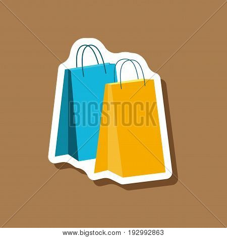 paper sticker fashion clothes paper bags shopping