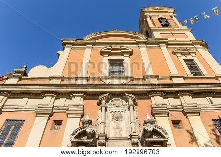 Iglesia De San Miguel Y San Sebastian Church In Valencia
