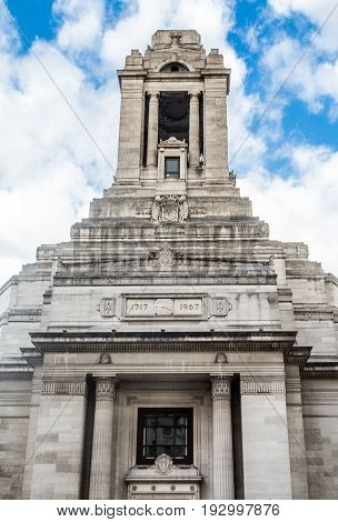 The Old Grand Lodge in London, England