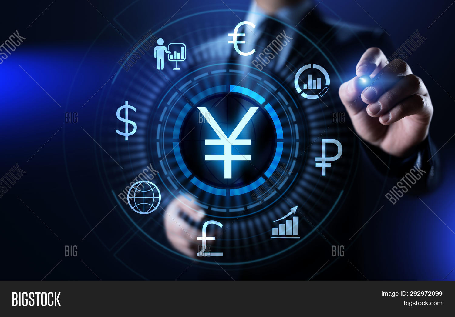 Yen Symbol Forex Image Photo Free