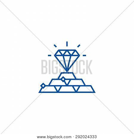 Commodities Concept Line Icon Concept. Commodities Concept Flat  Vector Symbol, Sign, Outline Illust
