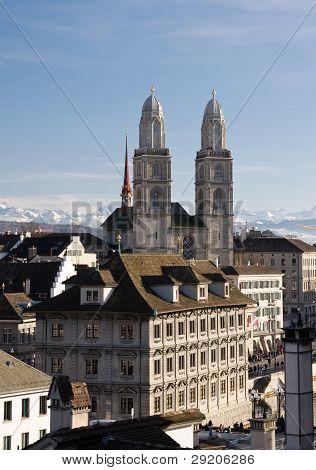 Grossmuenster In Zurich
