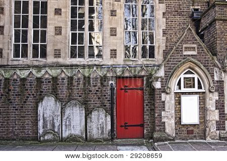 Old church in London.