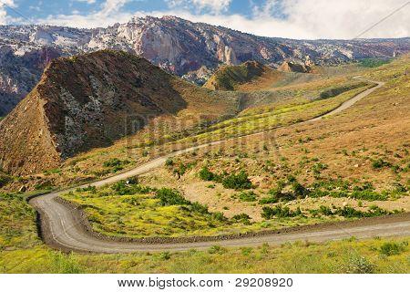 Cottonwood Canyon Road, Utah.