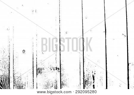 Vector Wood Texture, Vertical Planks. Abstract Background, Wooden Wall. Put This Illustration Over A