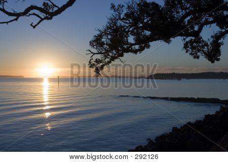 Auckland-Sonnenaufgang
