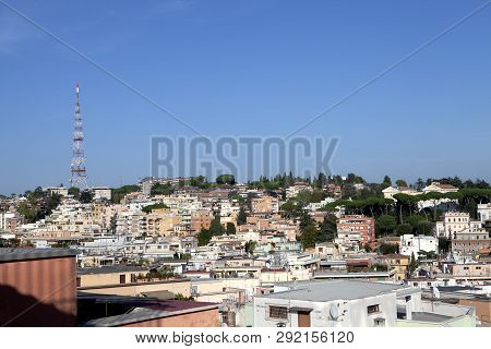 The Balduina Residential District In Rome Italy