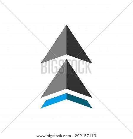 Up Arrow Icon Isolated On White Background. Up Arrow Icon Simple Sign. Up Arrow Icon Trendy And Mode