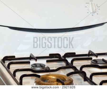 Gas Hob On Cooker