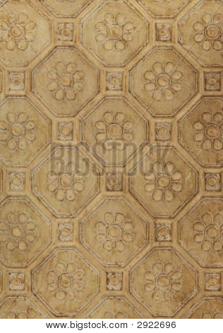 Old House Tin Ceiling Pattern