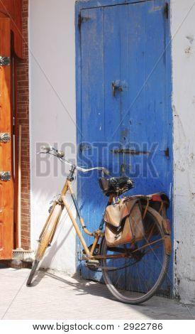 Bicycle & Blue Door