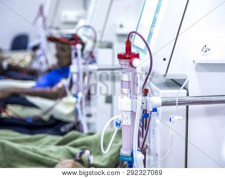 Hemodialysis In People On The Equipment