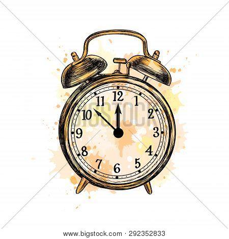 Alarm Clock Analog Vector Photo Free Trial Bigstock
