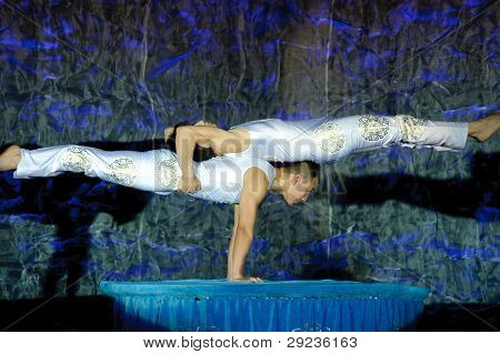 Chinese Acrobats Of Hebei