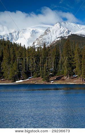Snow Capped Colorado Rockies